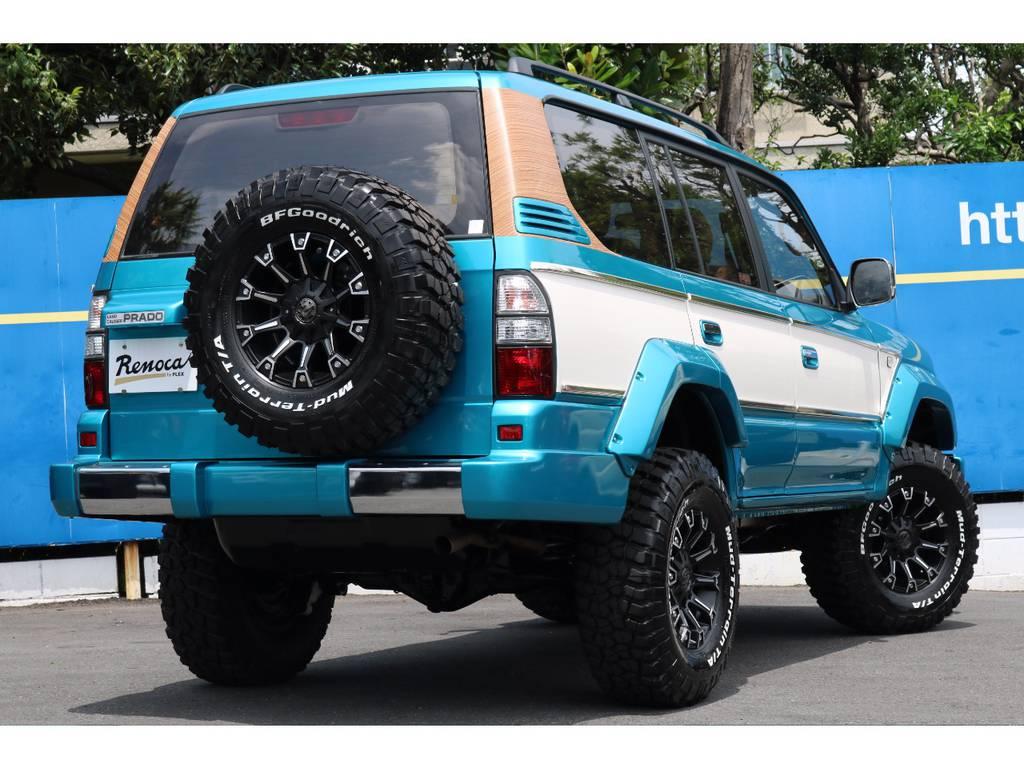 タイヤホイールは全て新品!もちろん背面もです!