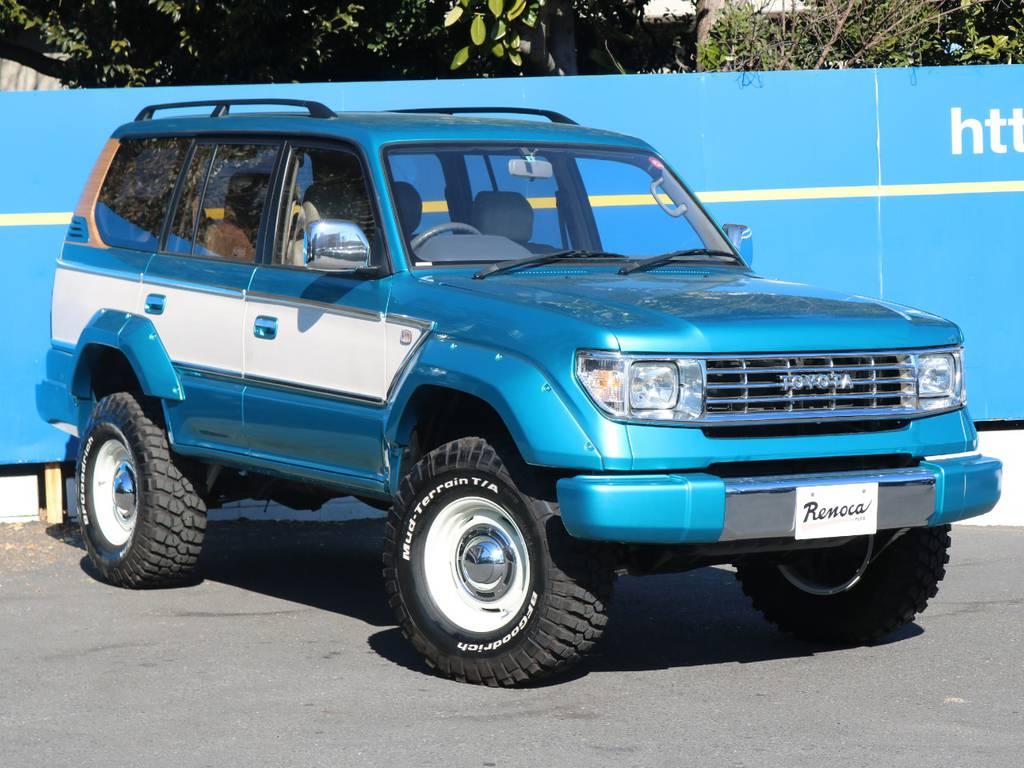 バンパーやオーバーフェンダーはフレックスオリジナル! | トヨタ ランドクルーザープラド 2.7 TX 4WD LTD