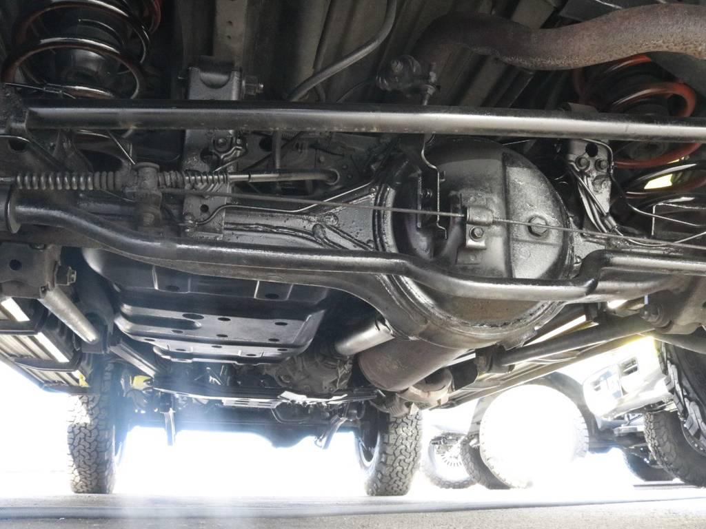 下回りの状態も良いのでおススメです   トヨタ ランドクルーザー80 4.5 VXリミテッド 4WD