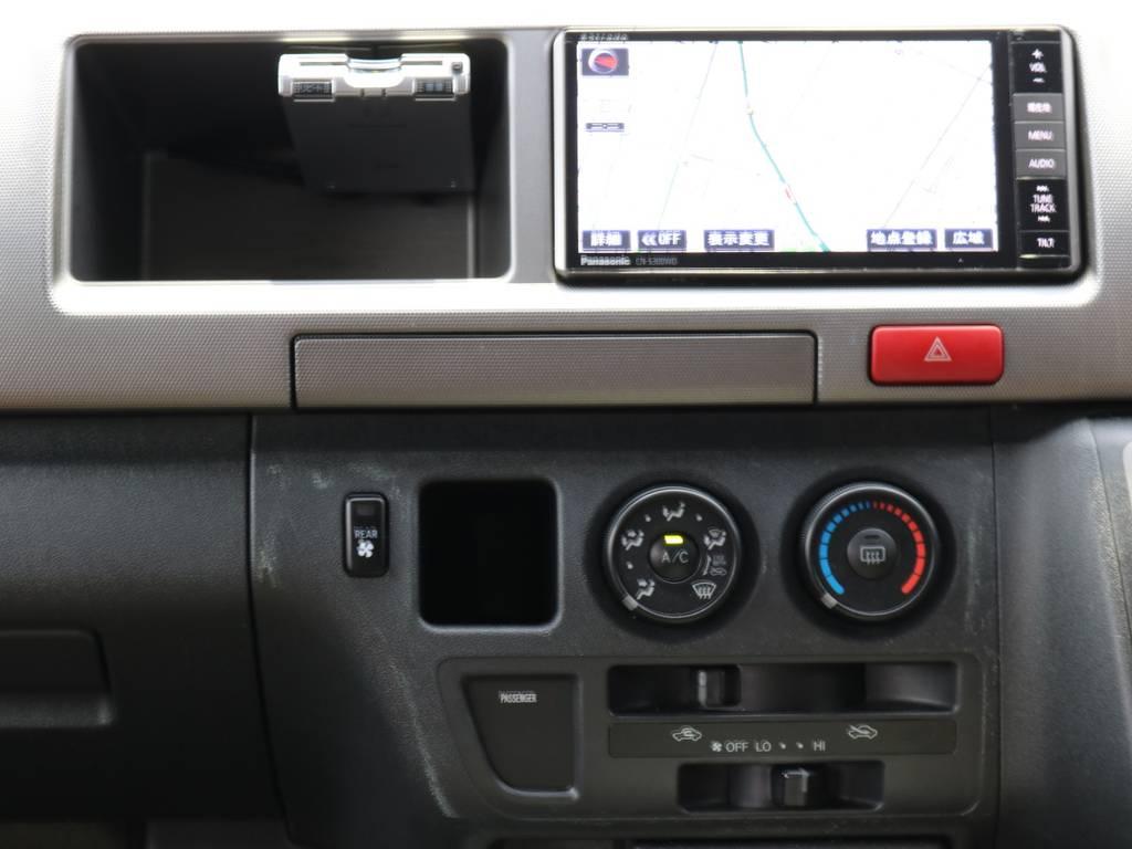 ETC装備済みです!! | トヨタ ハイエース 2.7 GL ロング ミドルルーフ 4WD 【CoastLinesレッド】