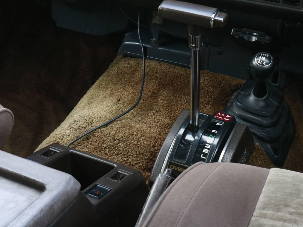 オートマなんで運転もらくらく☆シートやカーペットの状態も年式考えると結構いい方です! | トヨタ ランドクルーザー60 4.0 VX ハイルーフ 4WD