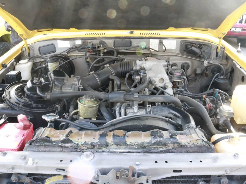 エンジンも調子◎!!もちろんご納車前整備もしっかりやります!1年間走行距離無制限の保証付き!!! | トヨタ ランドクルーザー60 4.0 VX ハイルーフ 4WD