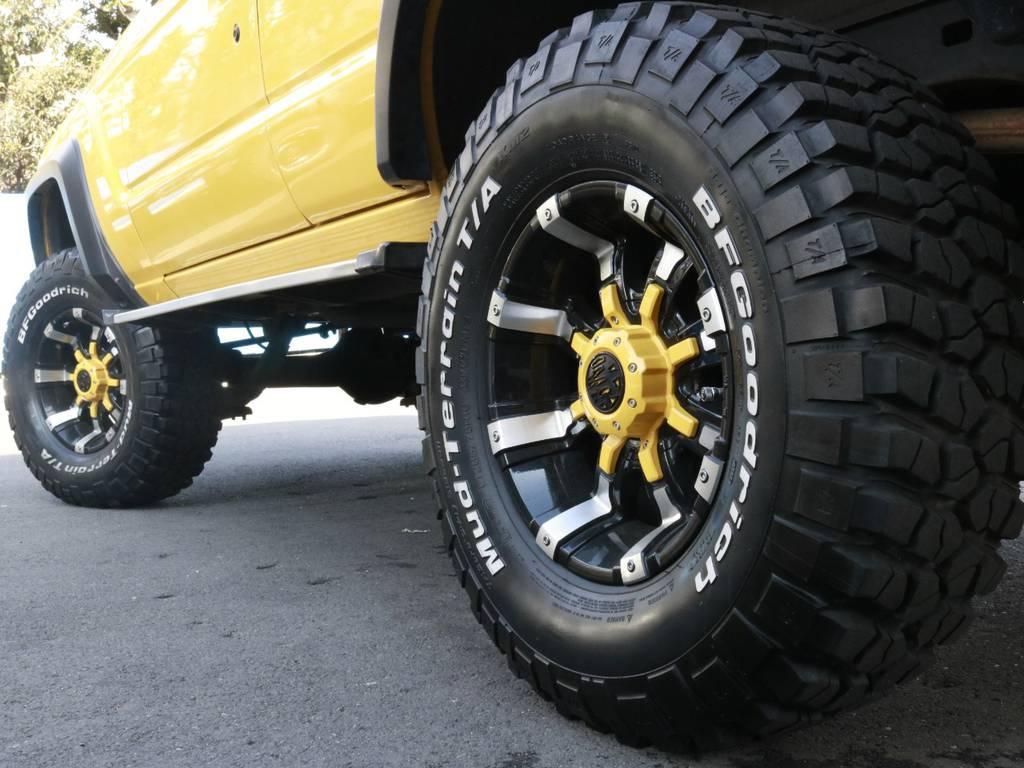 タイヤもまだまだイケます!あこがれの60でガンガン乗り込んでください!! | トヨタ ランドクルーザー60 4.0 VX ハイルーフ 4WD