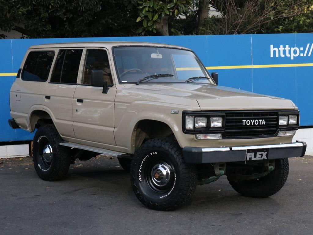 メッキパーツ、ブラックアウトしました | トヨタ ランドクルーザー60 4.0 VX ハイルーフ 4WD