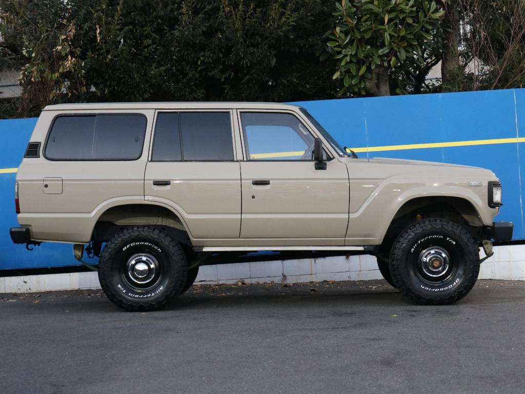 ワイルドな3インチアップ | トヨタ ランドクルーザー60 4.0 VX ハイルーフ 4WD