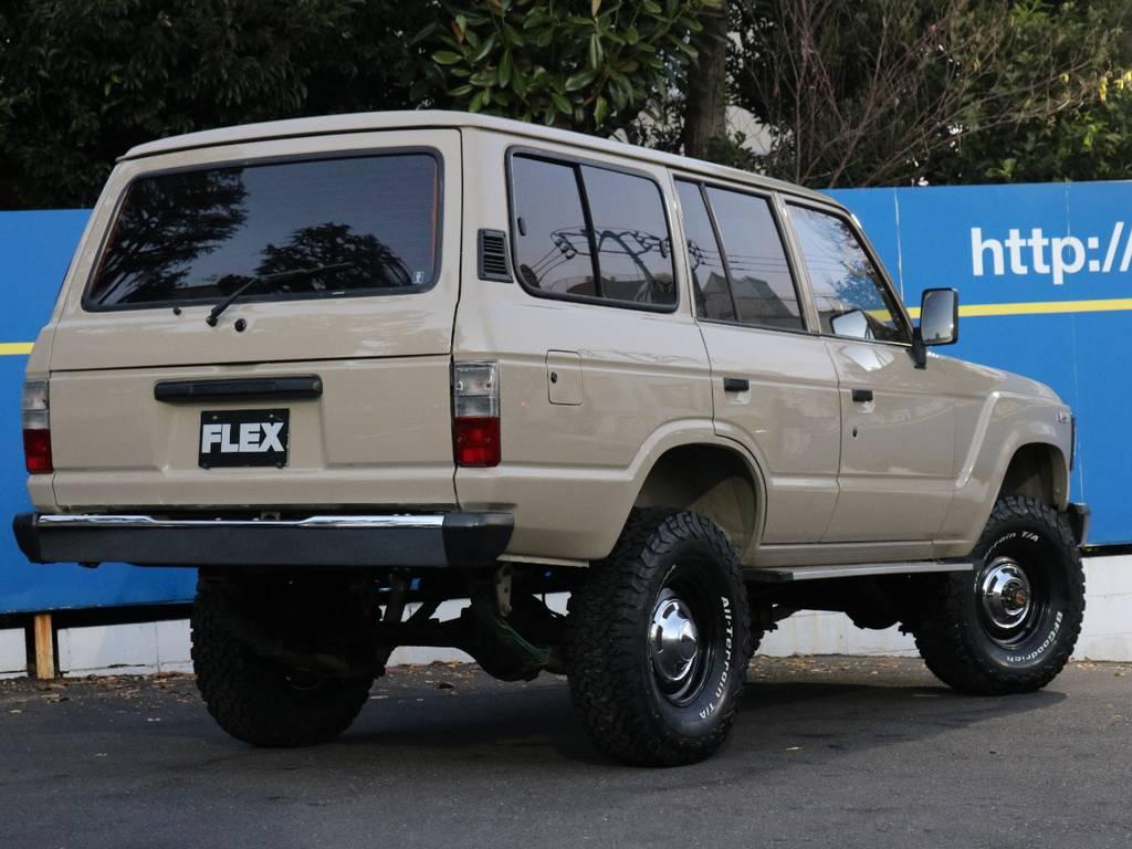 シンプルなナロースタイル | トヨタ ランドクルーザー60 4.0 VX ハイルーフ 4WD