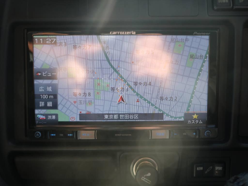 ナビ・ETC・バックカメラ装備!最新電装系装備への変更・追加もご相談ください! | トヨタ ランドクルーザー80 4.5 VXリミテッド 4WD