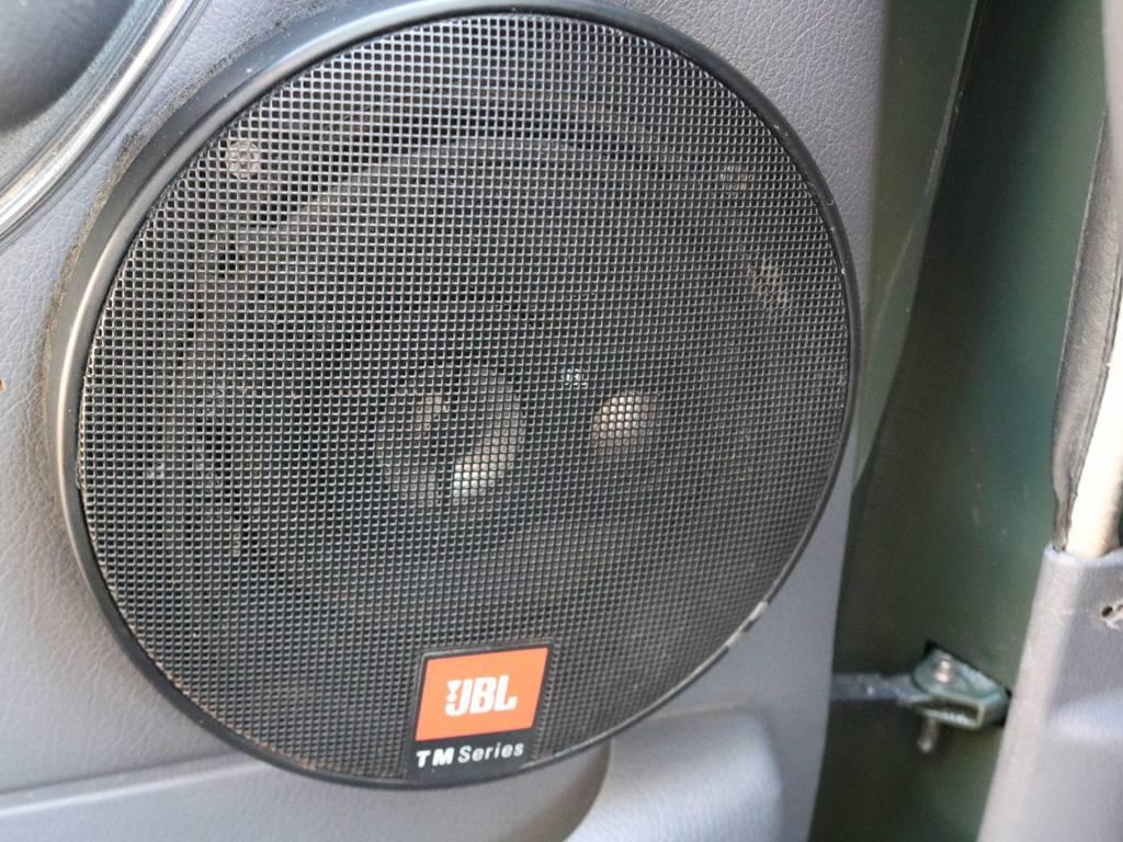 JBLスピーカー!世界的音響メーカーJBLやっぱり音いいです! | トヨタ ランドクルーザー80 4.5 VXリミテッド 4WD
