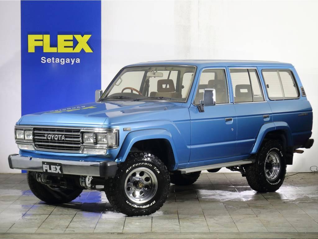 ランクル60最終モデル・ガソリンAT車は全国登録可能です。※平屋根換装車両のため修復歴ありとなりますが、事故歴はありません。