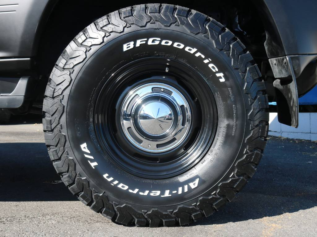 【新品】BFGoodrichATタイヤ×DEANクロスカントリーブラックAW | トヨタ ランドクルーザープラド 3.4 TX 4WD