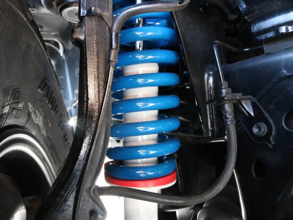 【新品】FLEXオリジナルコイル×PRO-COMP プロコンプ ショック2inchアップで補正もシッカリ! | トヨタ ランドクルーザープラド 3.4 TX 4WD