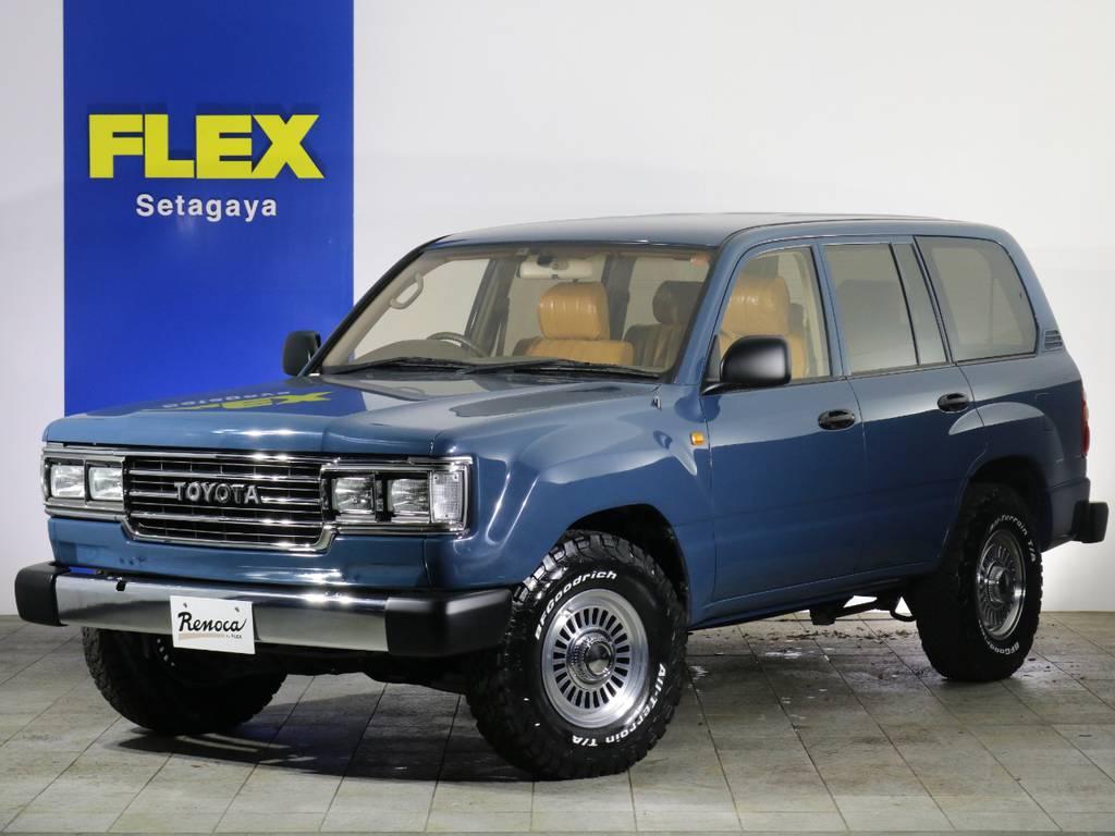 Renoca by FLEX ~自分らしくをどこまでも~ 【106】角目モデル登場! | トヨタ ランドクルーザー100 4.7 VXリミテッド 4WD 【106】