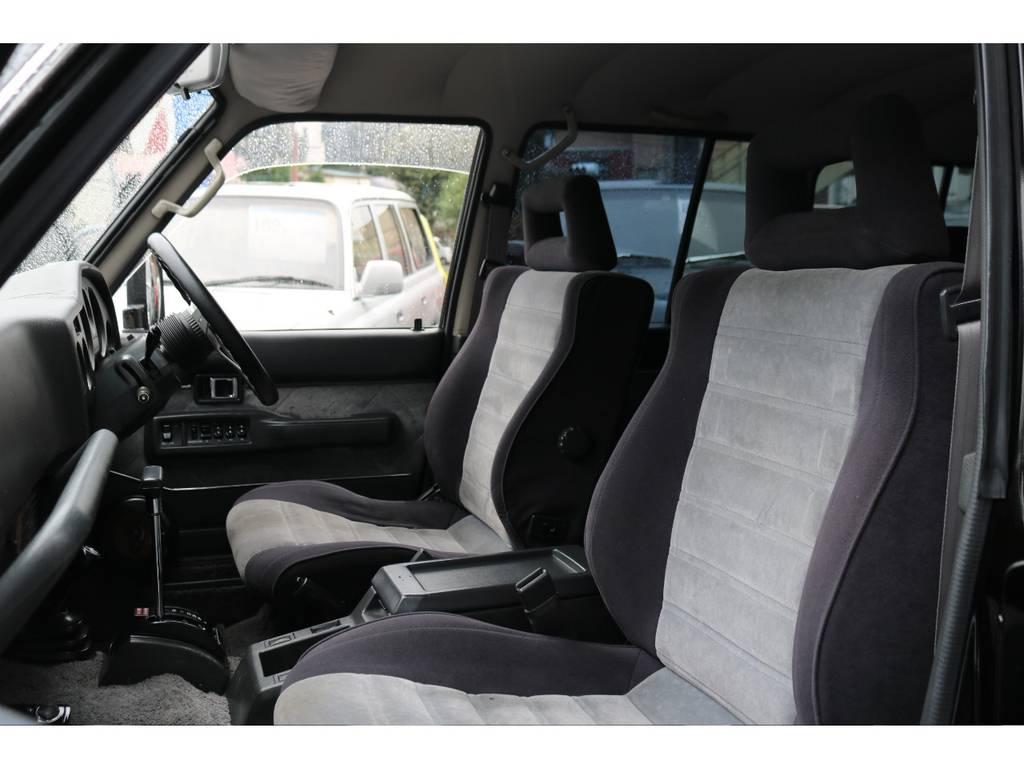 シートも程度良好!30年の月日を経たとは思えない! | トヨタ ランドクルーザー60 4.0 VX ハイルーフ 4WD