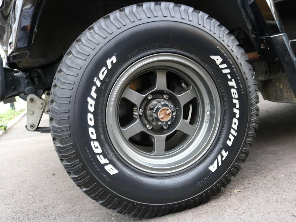 BFGoodrichATタイヤ! | トヨタ ランドクルーザー60 4.0 VX ハイルーフ 4WD