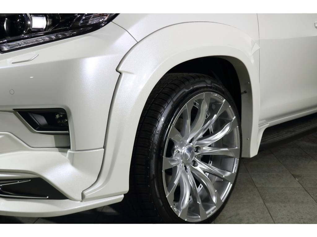 WALDオーバーフェンダー   トヨタ ランドクルーザープラド 2.7 TX Lパッケージ 4WD 5人