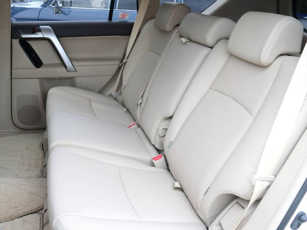 本革シート   トヨタ ランドクルーザープラド 2.7 TX Lパッケージ 4WD 5人