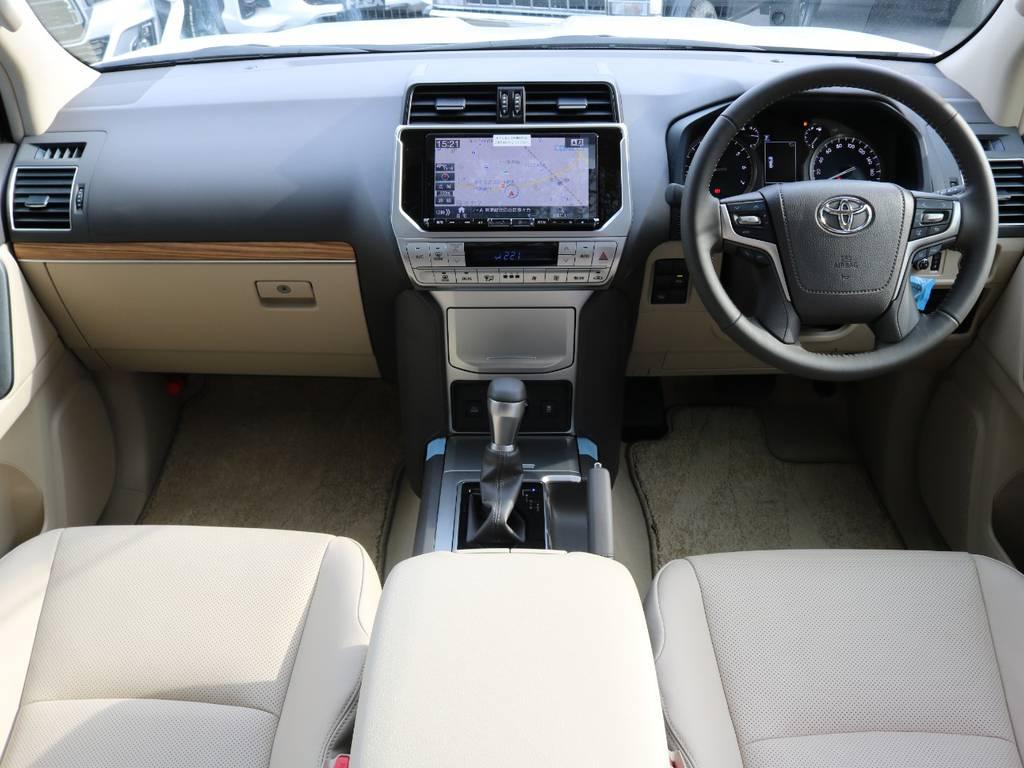 9インチナビ   トヨタ ランドクルーザープラド 2.7 TX Lパッケージ 4WD 5人