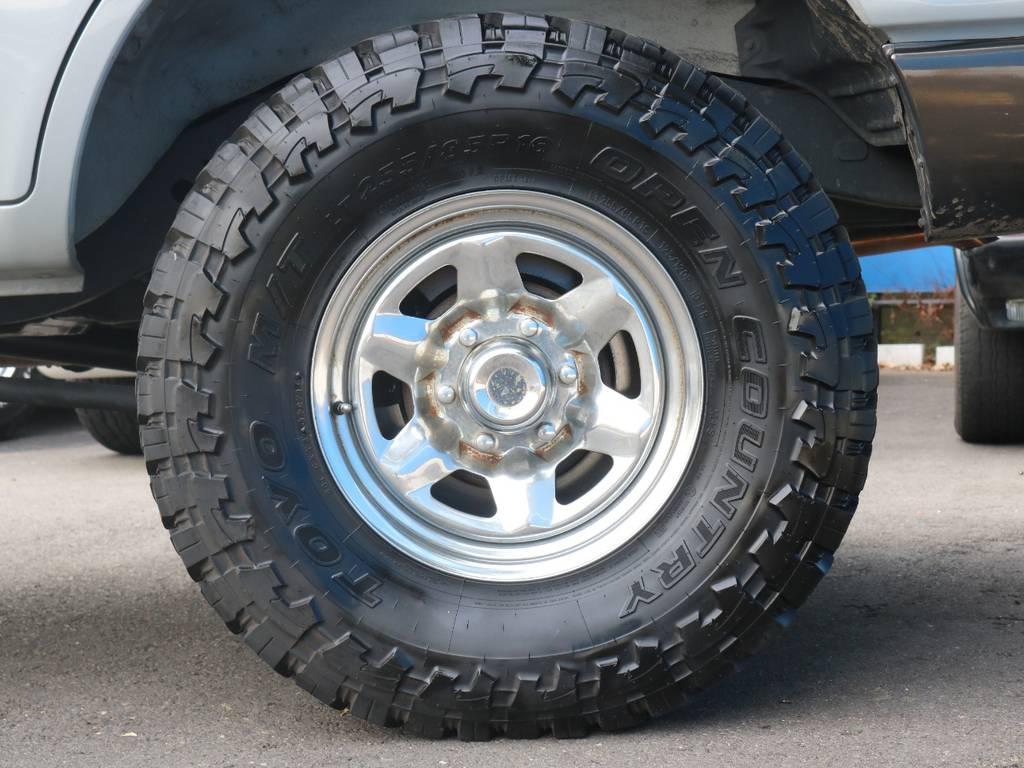 TOYO OPEN COUNTRYタイヤ!255/85/16R   トヨタ ランドクルーザー80 4.5 GX 4WD