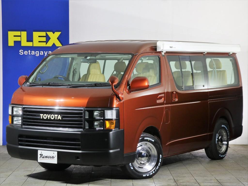 【Renoca by FLEX】【CoastLines】サイドオーニング付きの4WDワゴンです。