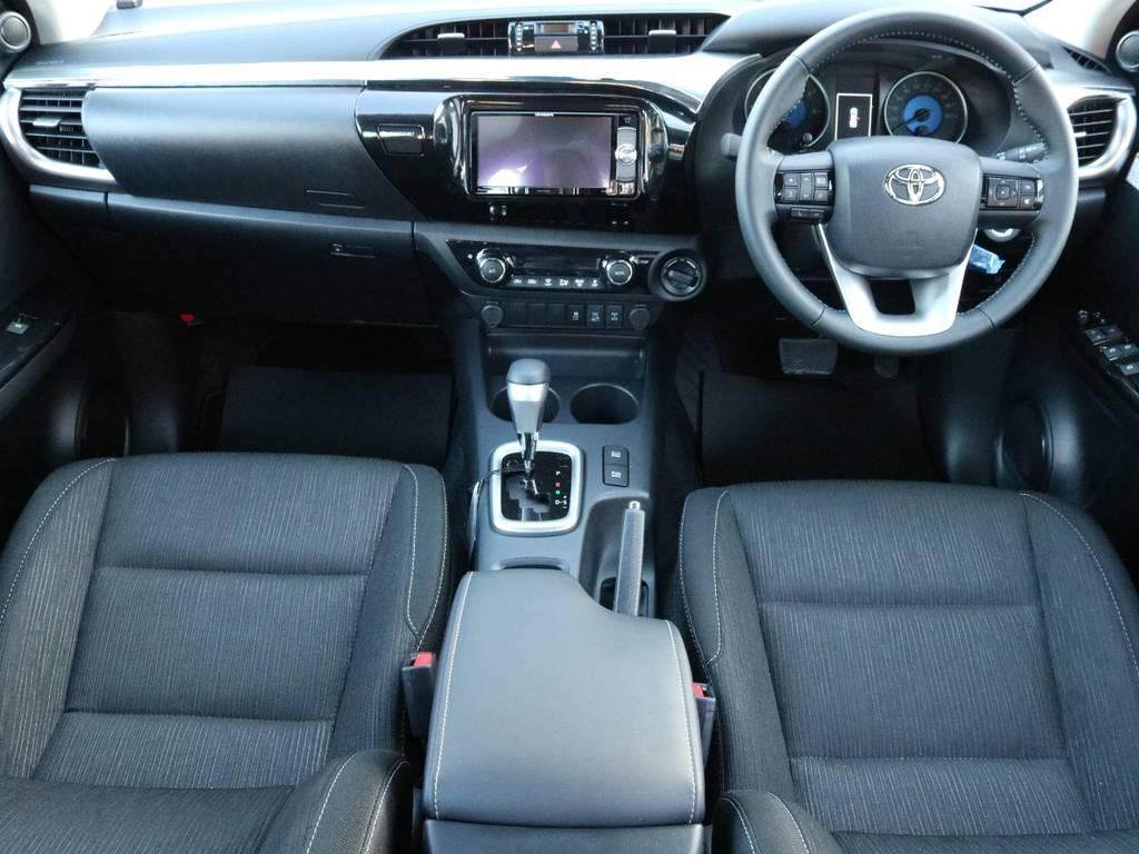 パートタイム4WD、オンロード、オフロードいずれの走行環境にも対応してます! | トヨタ ハイラックス 2.4 Z ディーゼルターボ 4WD Z