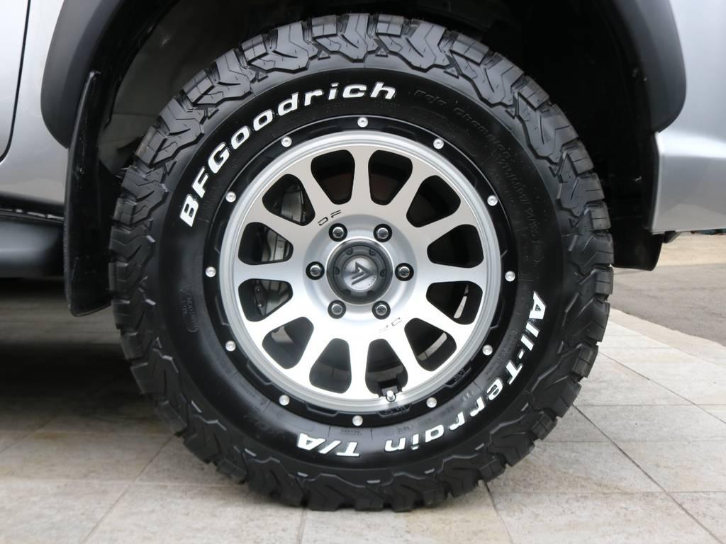 デルタフォースOVALホイール×BFG KO2タイヤ | トヨタ ハイラックス 2.4 Z ディーゼルターボ 4WD Z
