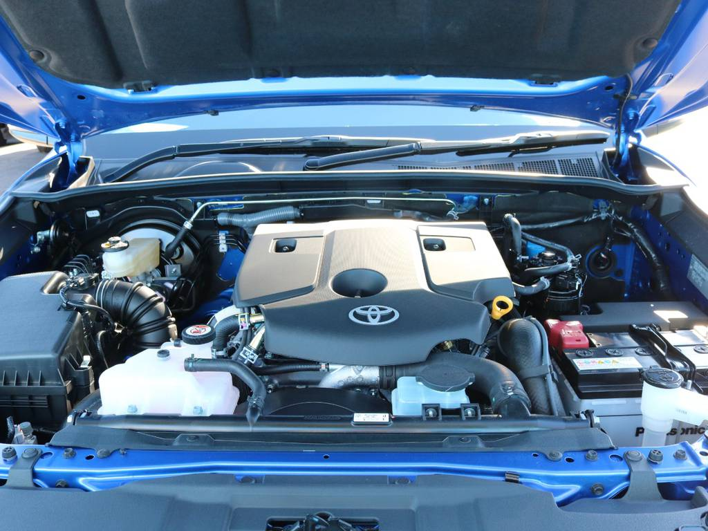 2400クリーンディーゼルエンジン | トヨタ ハイラックス 2.4 Z ディーゼルターボ 4WD Z