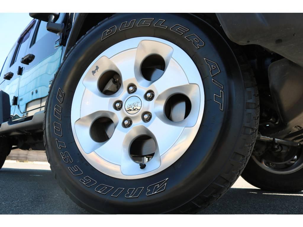 アンリミテッドスポーツのノーマルアルミホイールになります! | ジープ ラングラー アンリミテッド スポーツ 4WD