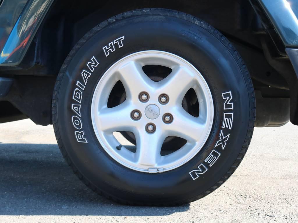 JEEPnの純正アルミホイール | ジープ ラングラー サハラ ハードトップ 4WD