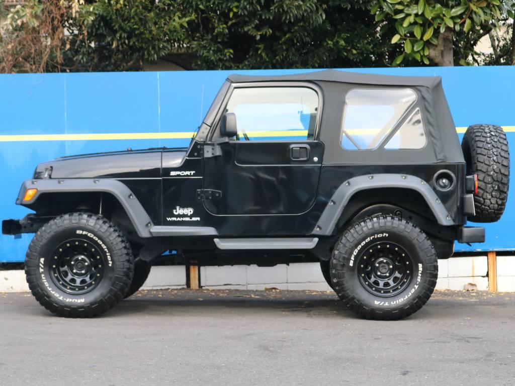 JEEPらしい男気溢れるスタイルです! | ジープ ラングラー スポーツ ソフトトップ 4WD