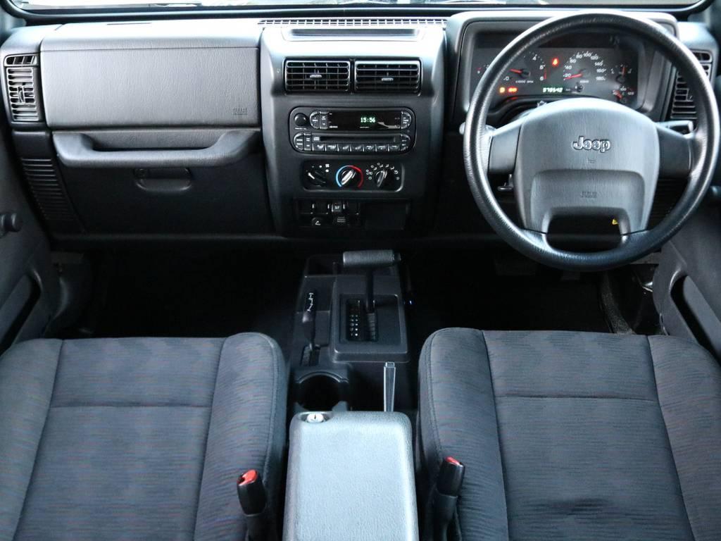 ETC完備 内装パネル周りも良好! | ジープ ラングラー スポーツ ソフトトップ 4WD