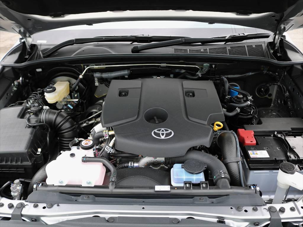 2400CCのディーゼルターボエンジン!! | トヨタ ハイラックス 2.4 Z ブラック ラリー エディション ディーゼルターボ 4WD TRDカスタムトラック