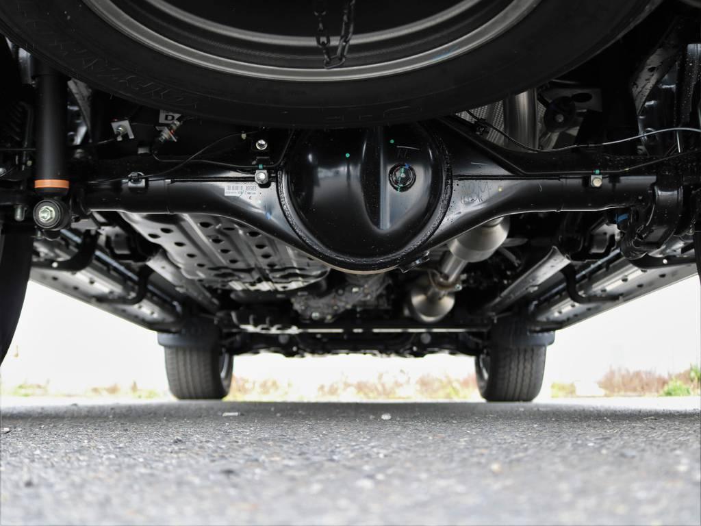 足回りのサビがないので、長く乗れると思います。 | トヨタ ハイラックス 2.4 Z ブラック ラリー エディション ディーゼルターボ 4WD TRDカスタムトラック