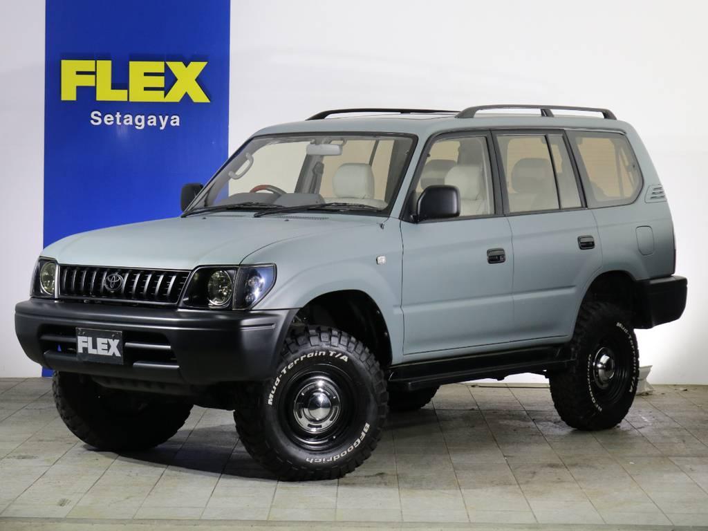 FLEX CUSTOM【ARMY】LAND CRUISER 95PRADO | トヨタ ランドクルーザープラド 2.7 TX リミテッド 4WD