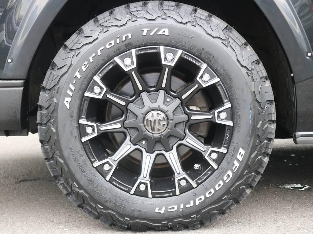 BFgoodrich ATタイヤ【新品】 | トヨタ ハイエースバン 2.7 スーパーGL ワイド ロング ミドルルーフ 4WD