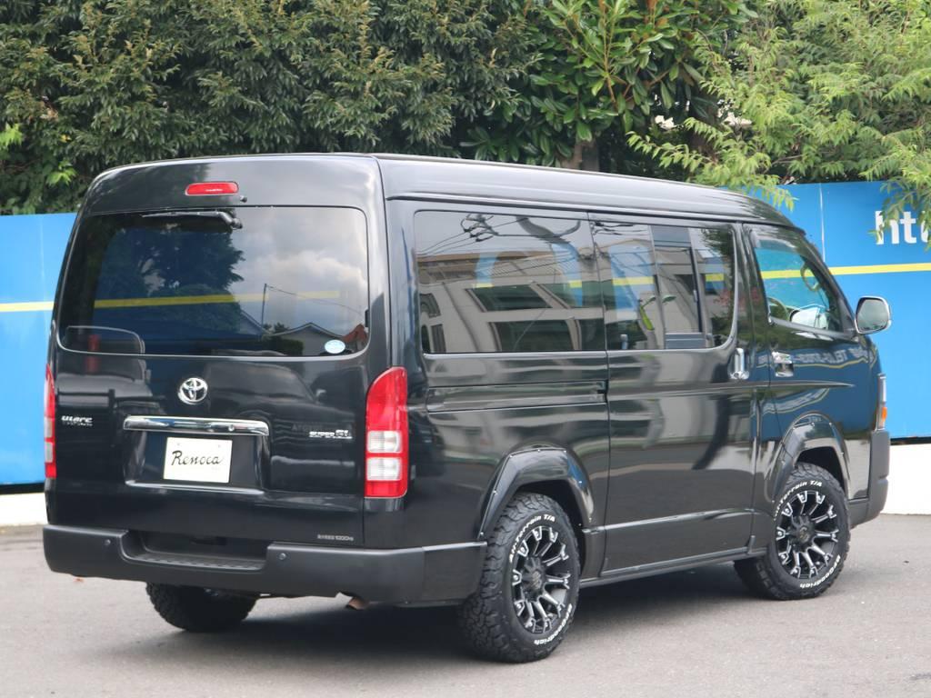 純正ブラック | トヨタ ハイエースバン 2.7 スーパーGL ワイド ロング ミドルルーフ 4WD
