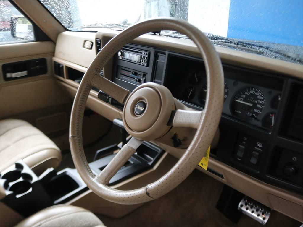 各所インテリア一つ一つが古き良きアメ車のデザインでとってもカッコ良いですね★