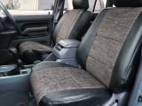 ブラックデニム風オリジナルシートカバー ドア内張も張り替えました