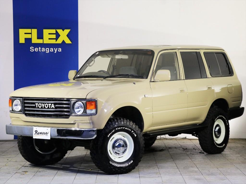 ランクル80最終モデルをベースにしたリノベーションカー