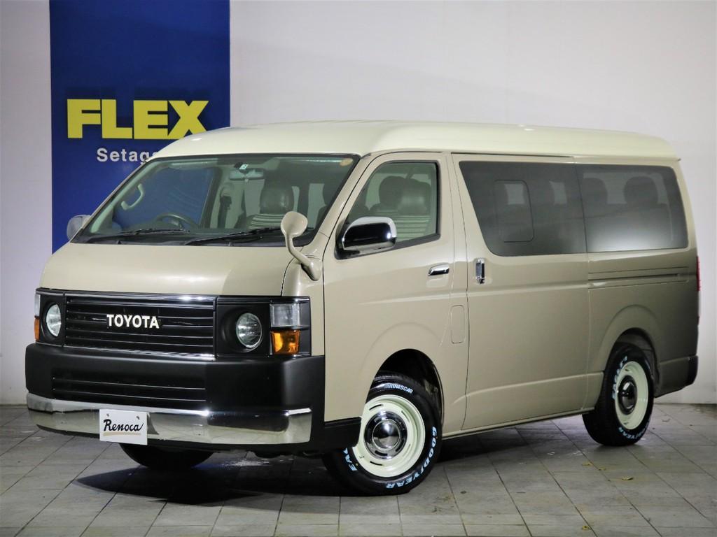 Renoca by FLEX HIACE Coast Lines 4WD 丸目