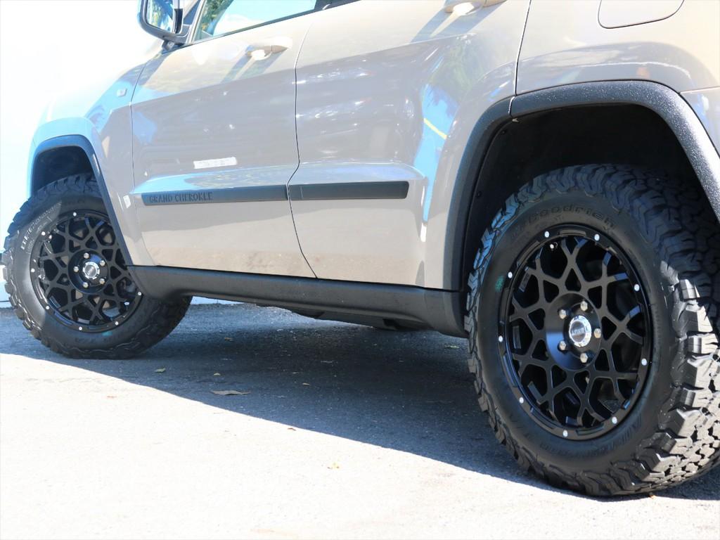 BRUT18インチホイール&BFgoodrich KO2タイヤを新品装着!