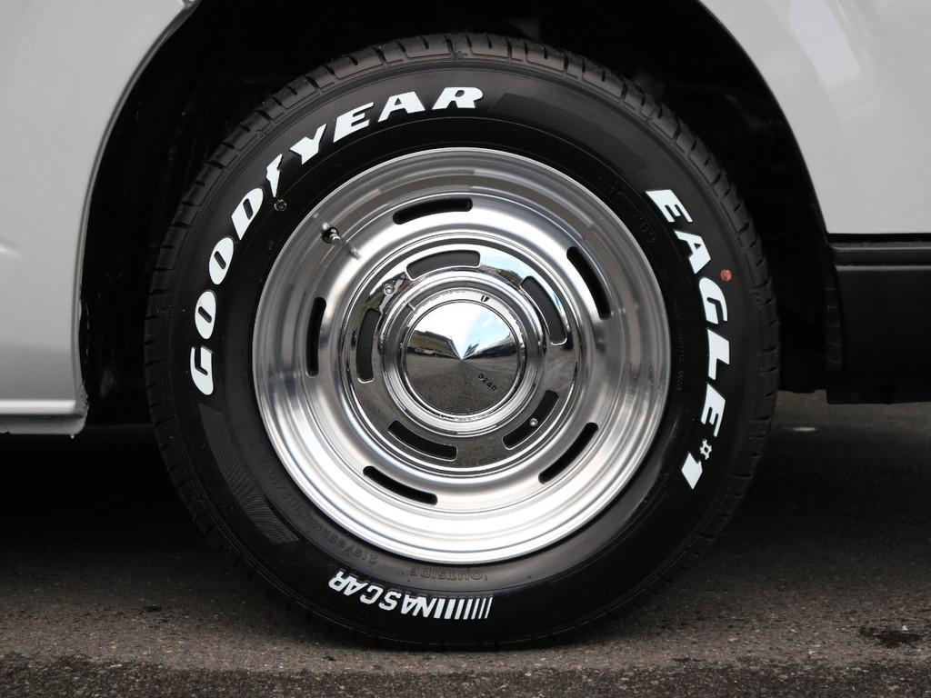 タイヤ・アルミは4本新品装着。