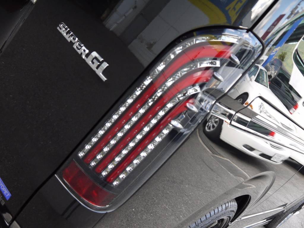 415COBRAライトセイバーシーケンシャルLEDテール!ウインカーが流れるタイプです! | トヨタ ハイエースバン 2.0 スーパーGL ダークプライム ロングボディ S-STYLE
