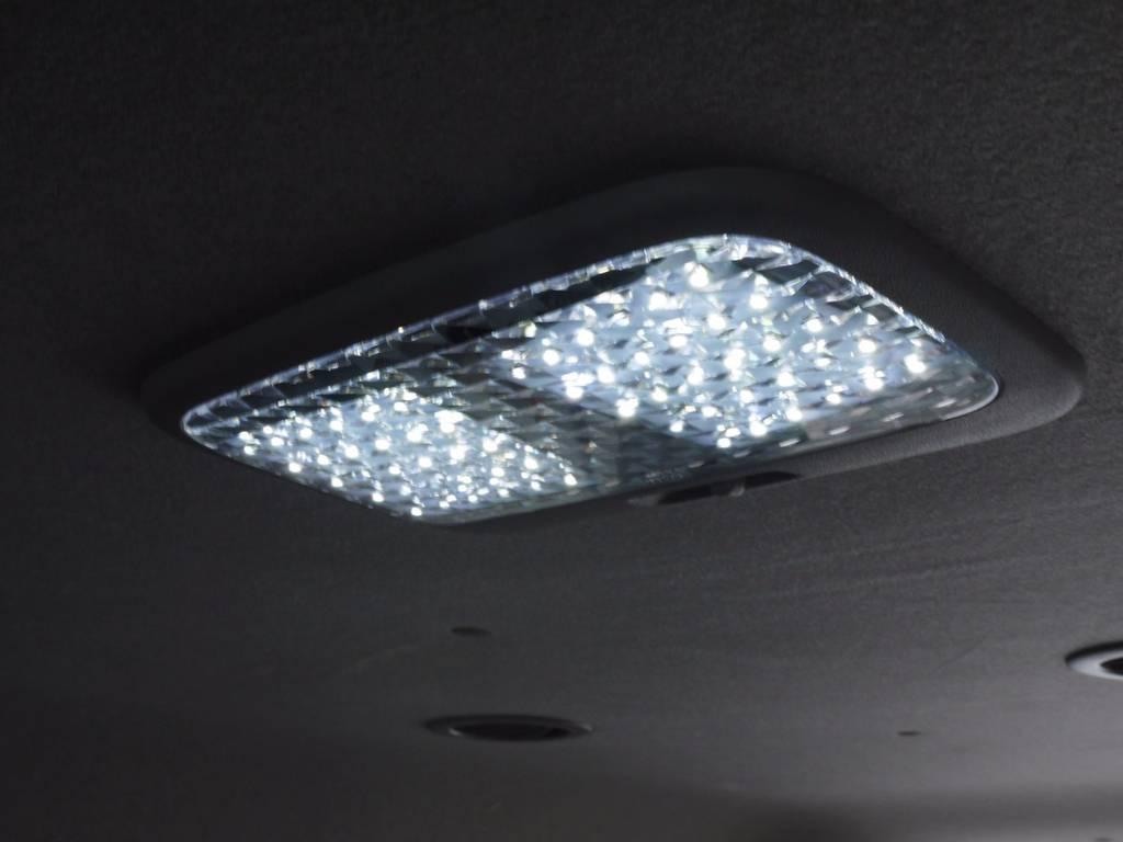 LEDルームランプ&クリスタルレンズ! | トヨタ ハイエース 2.7 GL ロング ミドルルーフ ワゴンKIT