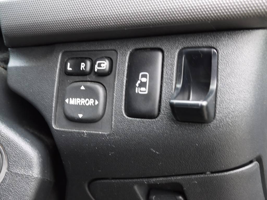新車時メーカーオプションのパワースライドドアも完備しております。 | トヨタ ハイエース 2.7 GL ロング ミドルルーフ ワゴンKIT