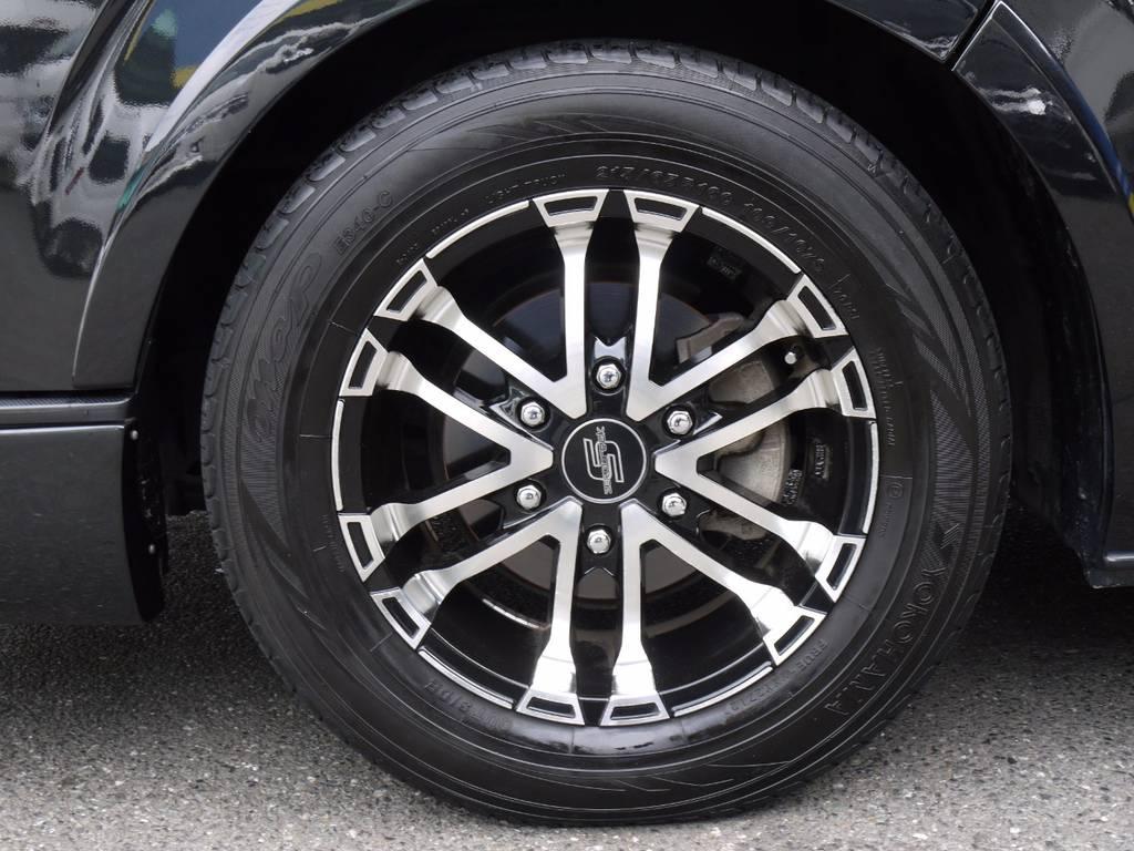 アクトゼロブレイクSBP16inchAW! | トヨタ ハイエース 2.7 GL ロング ミドルルーフ ワゴンKIT
