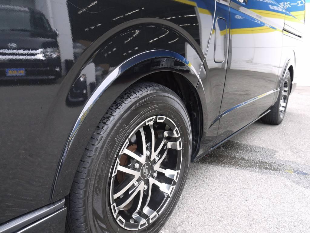 ギブソンブラインドフェンダーVer2装着済み! | トヨタ ハイエース 2.7 GL ロング ミドルルーフ ワゴンKIT