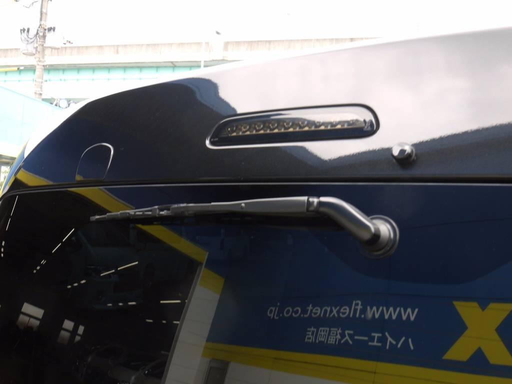 ヴァレンティHMS・ミラーホールカバー!リアビューもバッチリきまってますよ! | トヨタ ハイエース 2.7 GL ロング ミドルルーフ ワゴンKIT