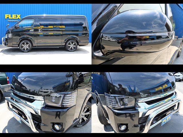 ブランバレン アローウインカーミラー ☆ | トヨタ ハイエース 2.7 GL ロング ミドルルーフ 4WD 4WD Ver1