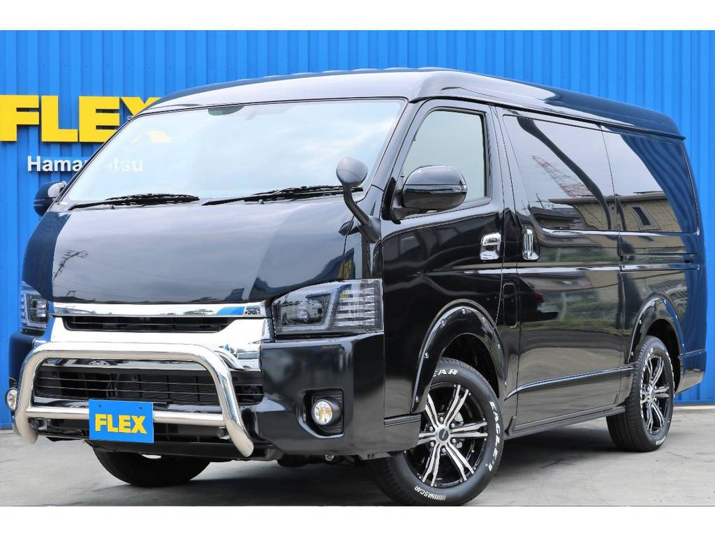 【4WD】フレックス内装架装Ver1☆ | トヨタ ハイエース 2.7 GL ロング ミドルルーフ 4WD 4WD Ver1