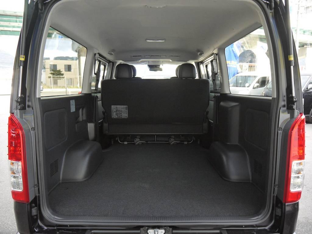 広大なラゲッジスペース!車中泊・フィッシュング・トランポ仕様等各種カスタムもお任せ下さい!   トヨタ ハイエースバン 2.0 スーパーGL ロング TSSP